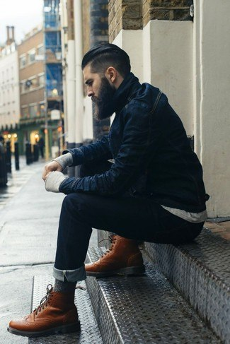 how to wear blue jeans for men (8)