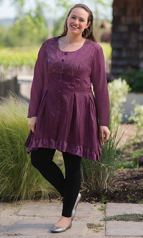 Legging Outfits for Plus Size Girls