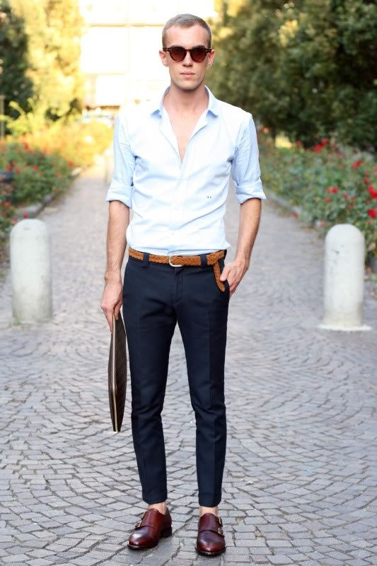 how to wear monk strap shoes for men (16)