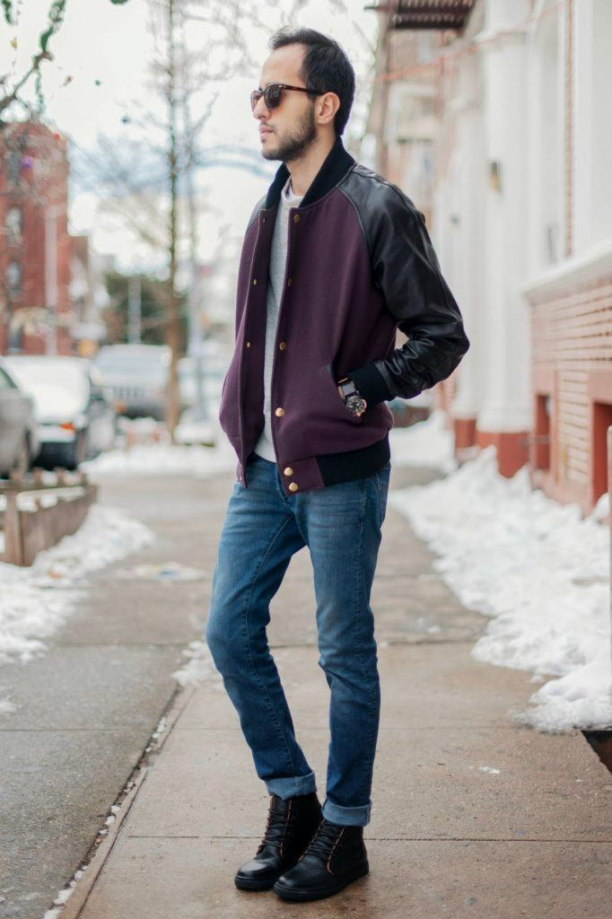 how to wear blue jeans for men (6)