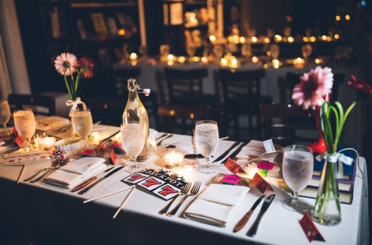 The simple decor made the celebration intimate and homey, which is so precious