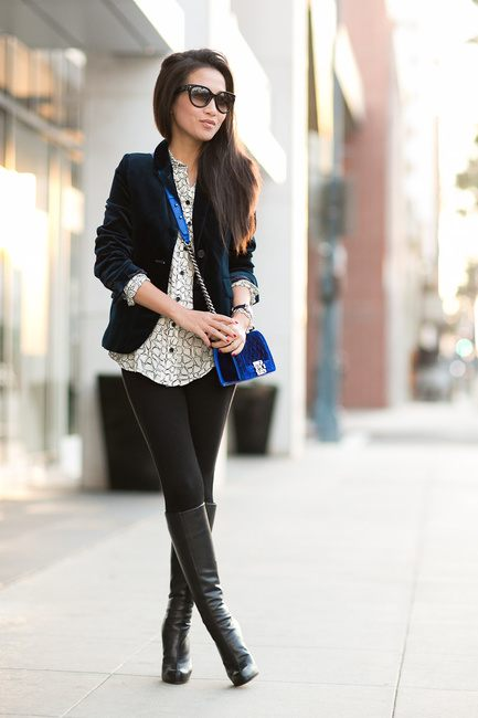 Outfits with Velvet Handbags (2)