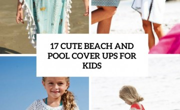 cute beach and pool cover ups for kids cover