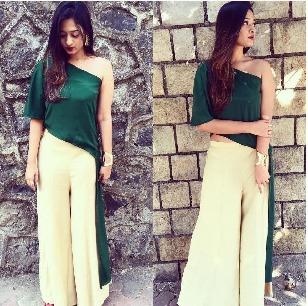 Women's Palazzo Pants Outfits - 20 Ways To Wear Palazzo Pants With Short Shirt