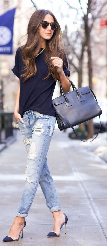 20 Best Pinroll Jeans Outfits for Women (18)