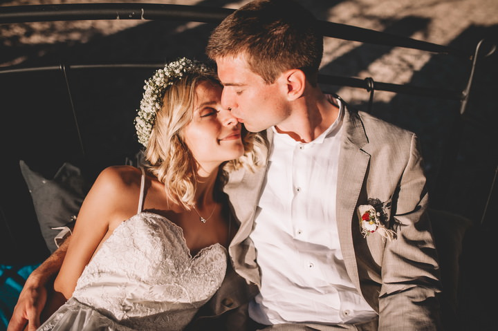 This beautiful couple got married in Croatia, it was a destination boho wedding with lots of DIY realized by the bride herself