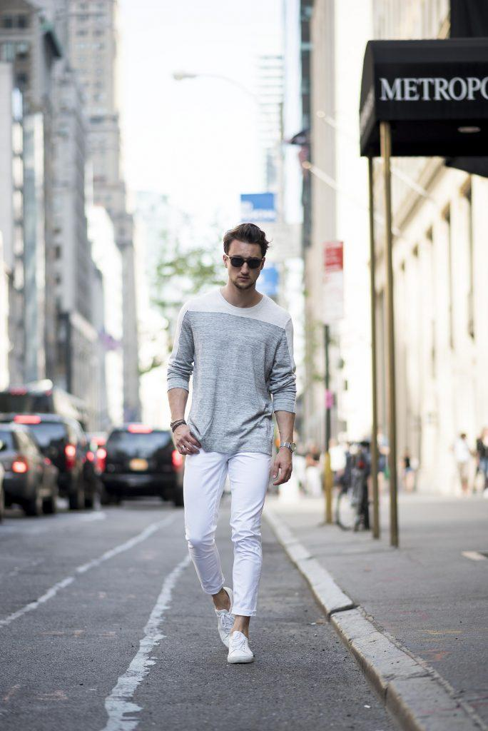 how to wear white jeans for men (24)