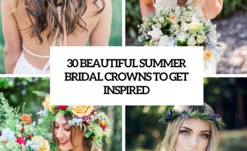 beautiful summer bridal crowns to get inspired cover