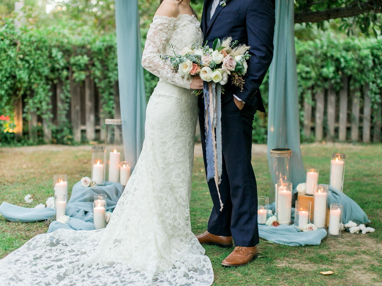 wedding ideas - photo by Dennis Roy Coronel http://ruffledblog.com/copper-blue-rancho-las-lomas-wedding-inspiration