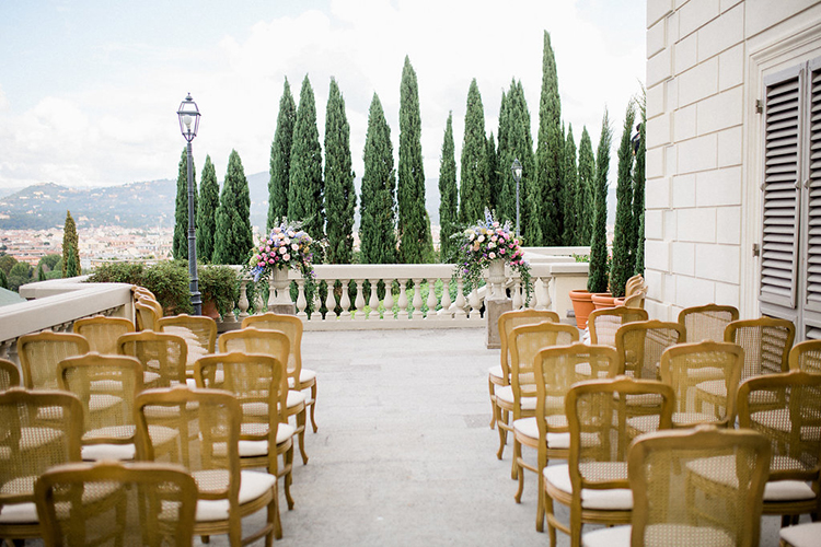 wedding ceremonies - photo by Booth Photographics http://ruffledblog.com/watercolor-destination-wedding-in-florence