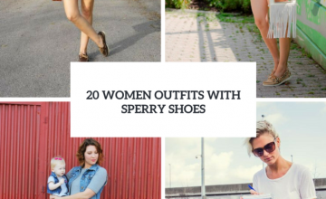 Charming Women Outfits With Sperry Shoes
