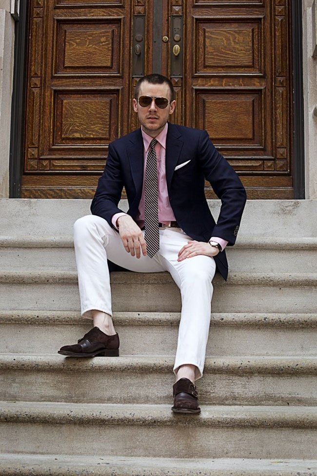 how to style business attire in summer for men (27)