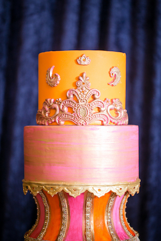 Indian wedding cake | Rachael Hall Photography
