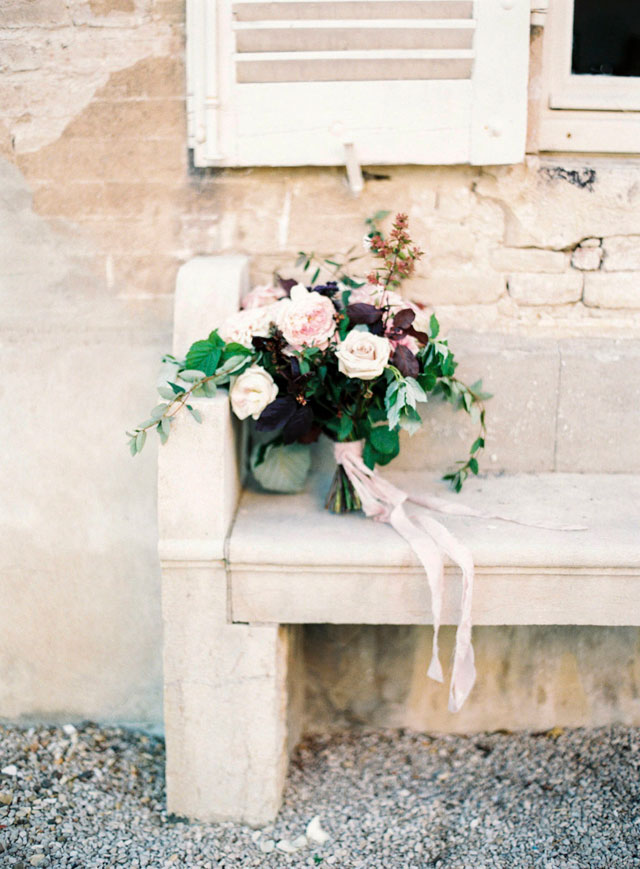 David Austin rose blush pink bridal bouquet | Zosia Zacharia Photography