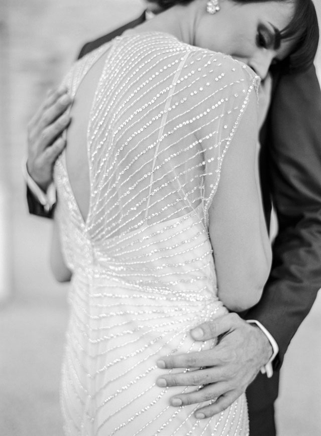 Beaded Jenny Packham wedding dress | Zosia Zacharia Photography