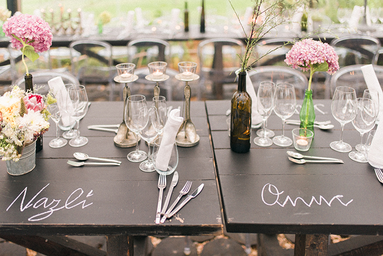 wedding tables - photo by Adriana Morais http://ruffledblog.com/two-day-destination-wedding-celebration-in-portugal