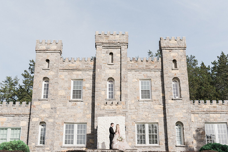 castle wedding inspiration - photo by Christy Wilson Photography http://ruffledblog.com/summer-castle-soiree-wedding-inspiration