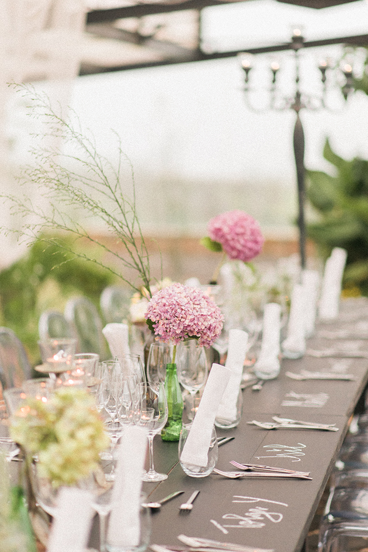 wedding tablescapes - photo by Adriana Morais http://ruffledblog.com/two-day-destination-wedding-celebration-in-portugal