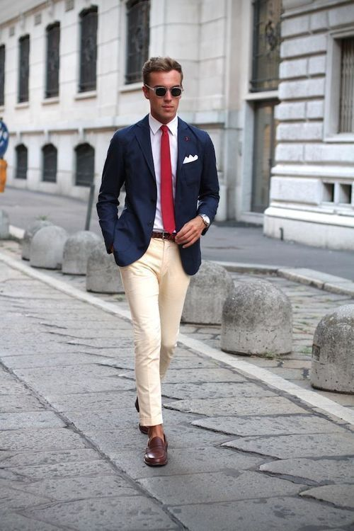 how to style business attire in summer for men (11)
