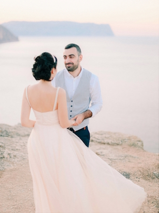 First look | Alexander and Marina Santi