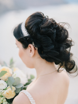 Loose updo | Alexander and Marina Santi