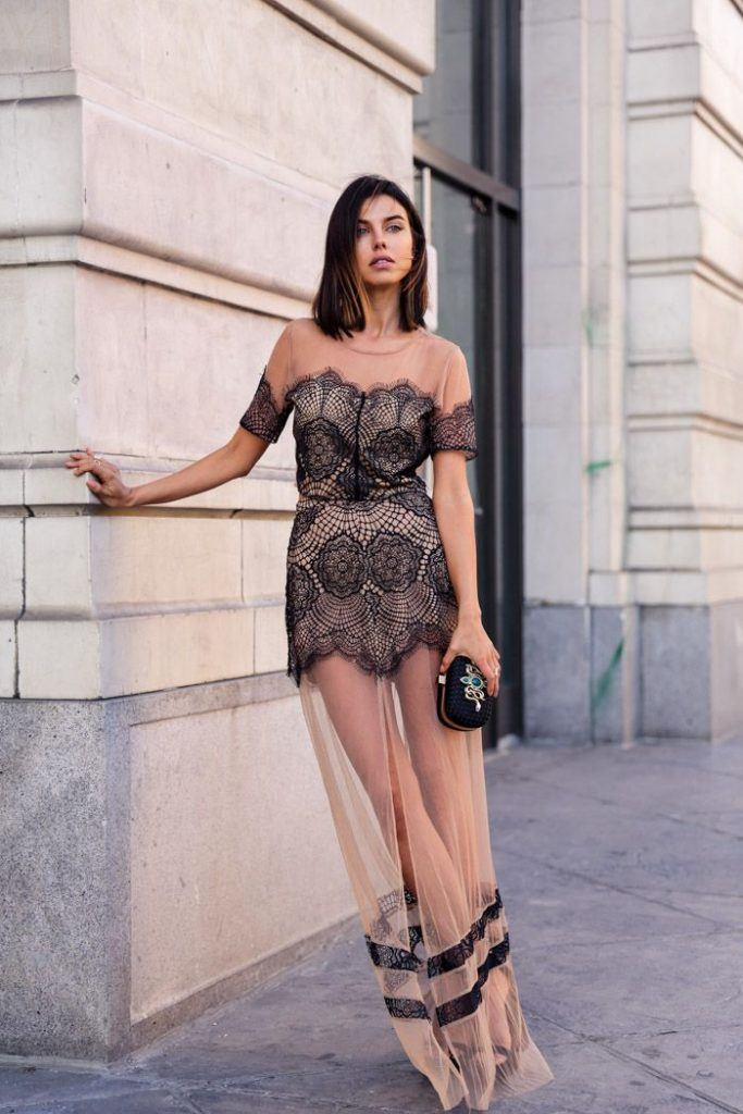 How to wear a sheer club outfit (28)