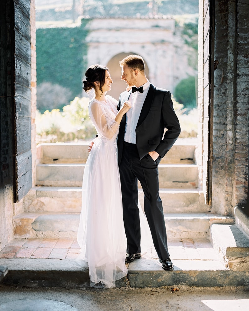 italy wedding shoot