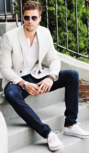 how to style business attire in summer for men (26)