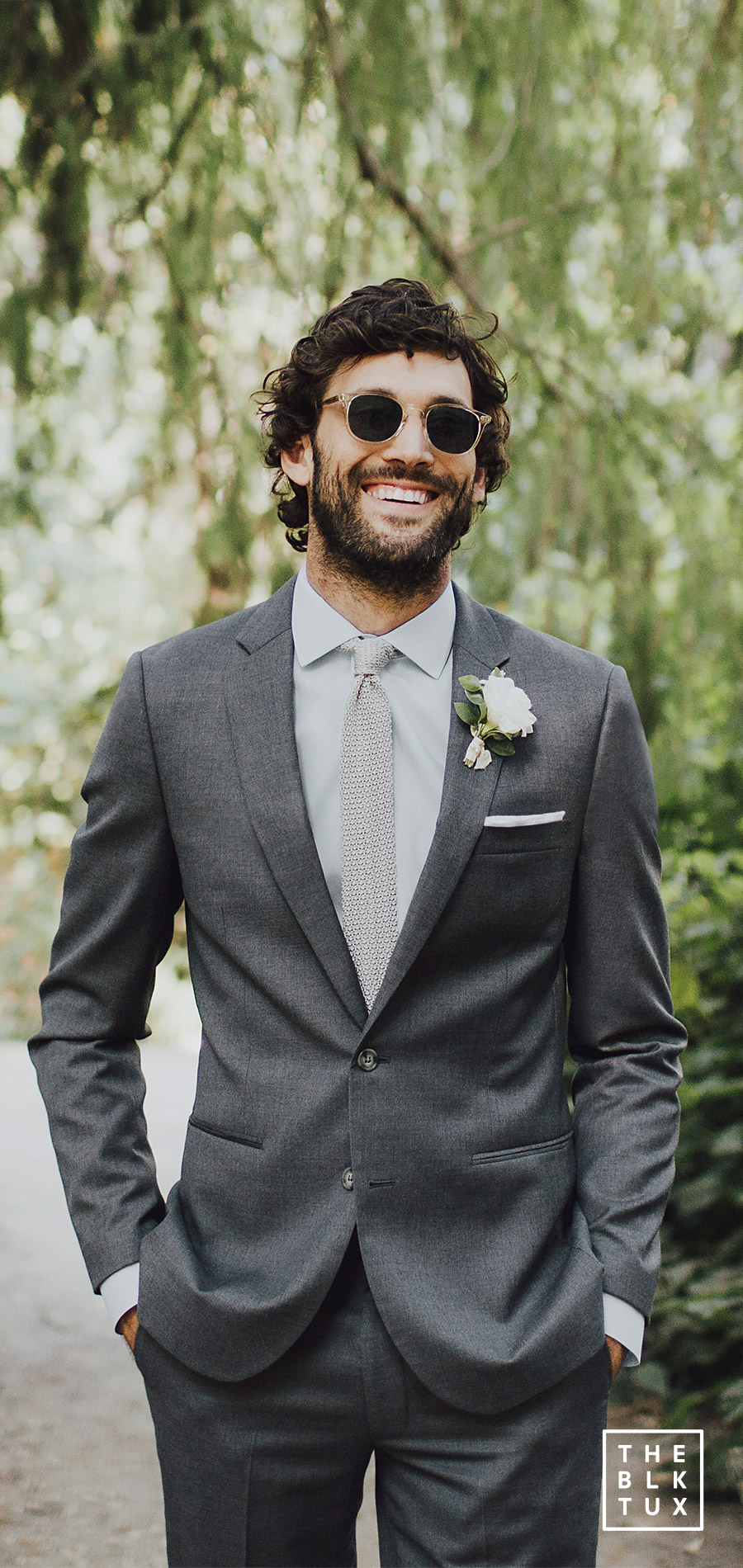 the black tux 2017 online tuxedo rental service grey gray charcoal suit casual wedding dress style inspiration
