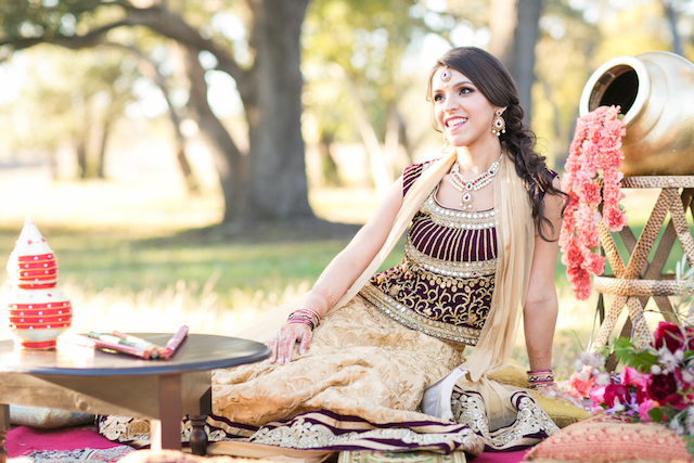 Indian Wedding inspiration shoot | Rachael Hall Photography