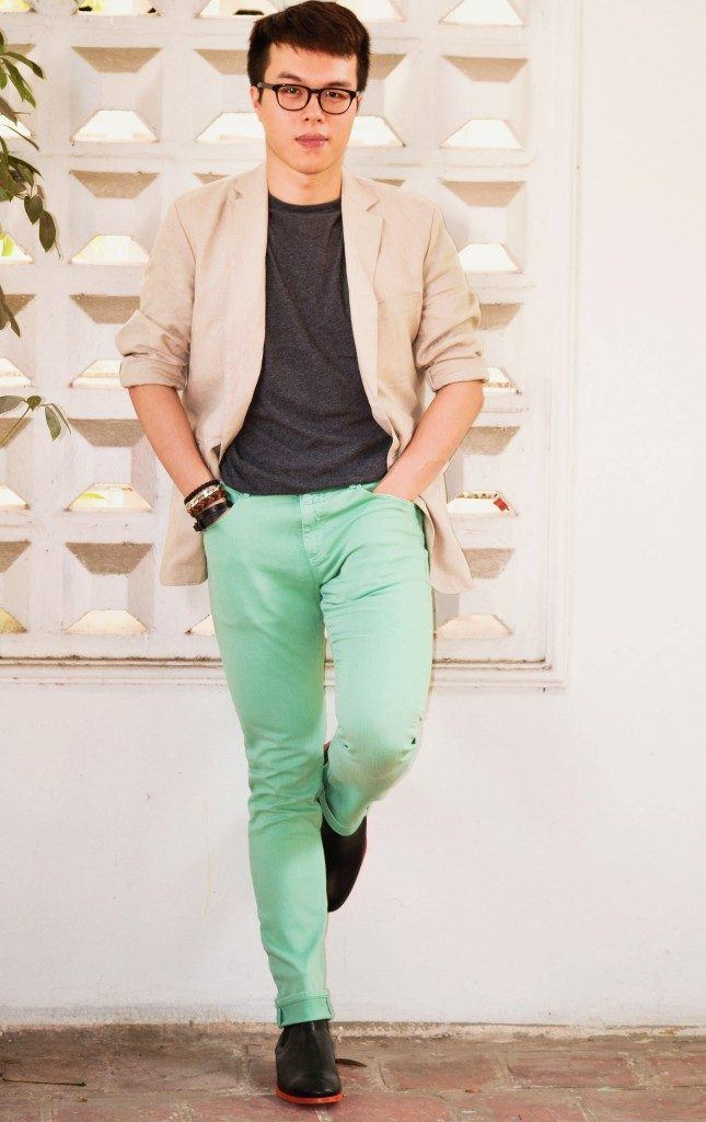 how to wear a mint pant (30)