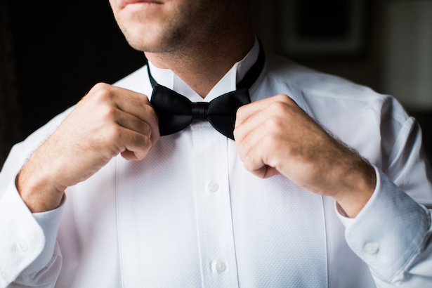 Groom bow tie - Style and Story Photography
