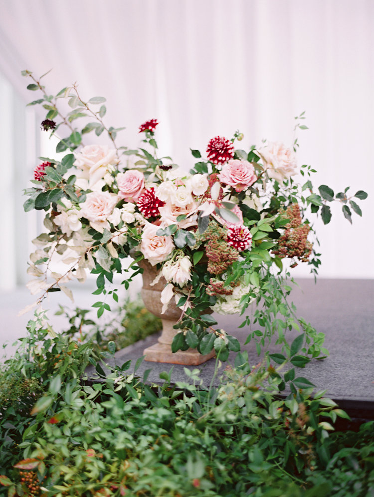 wedding flowers - photo by Bethany Erin Photography http://ruffledblog.com/modern-meets-rustic-wedding-in-dallas