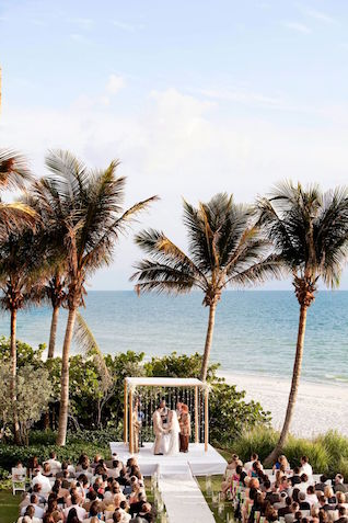 LaPlaya Beach & Golf Resort Naples, Florida Wedding