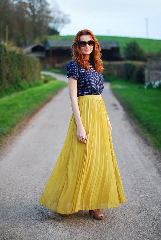 how to wear yellow skirt (19)