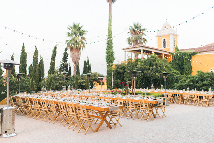 wedding receptions - photo by Adriana Morais http://ruffledblog.com/two-day-destination-wedding-celebration-in-portugal