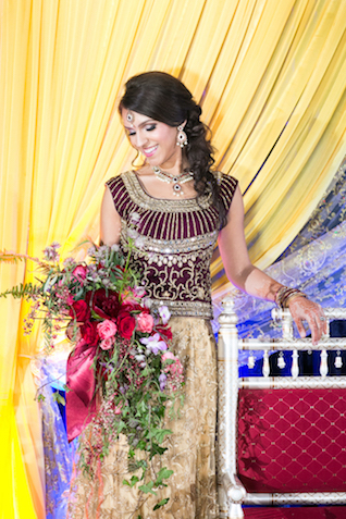 Indian wedding dress | Rachael Hall Photography