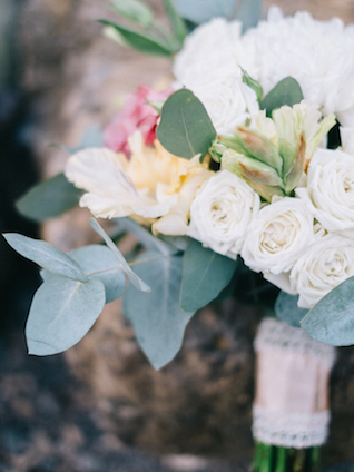Classic bridal bouquet | Alexander and Marina Santi