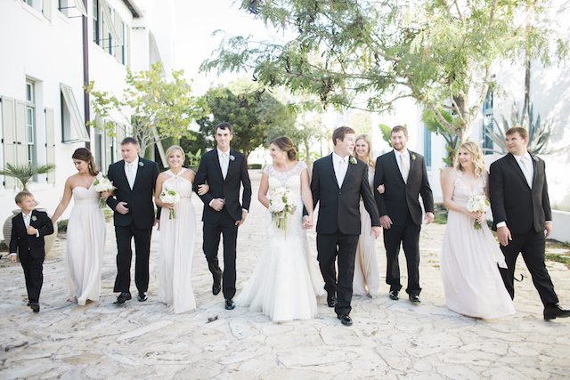 Bridal party |Leslie Hollingsworth Photography