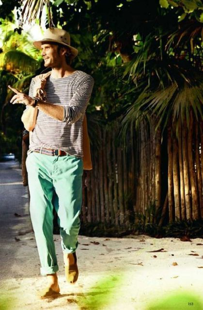 how to wear a mint pant (5)