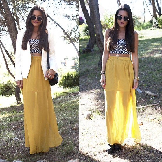 how to wear yellow skirt (24)
