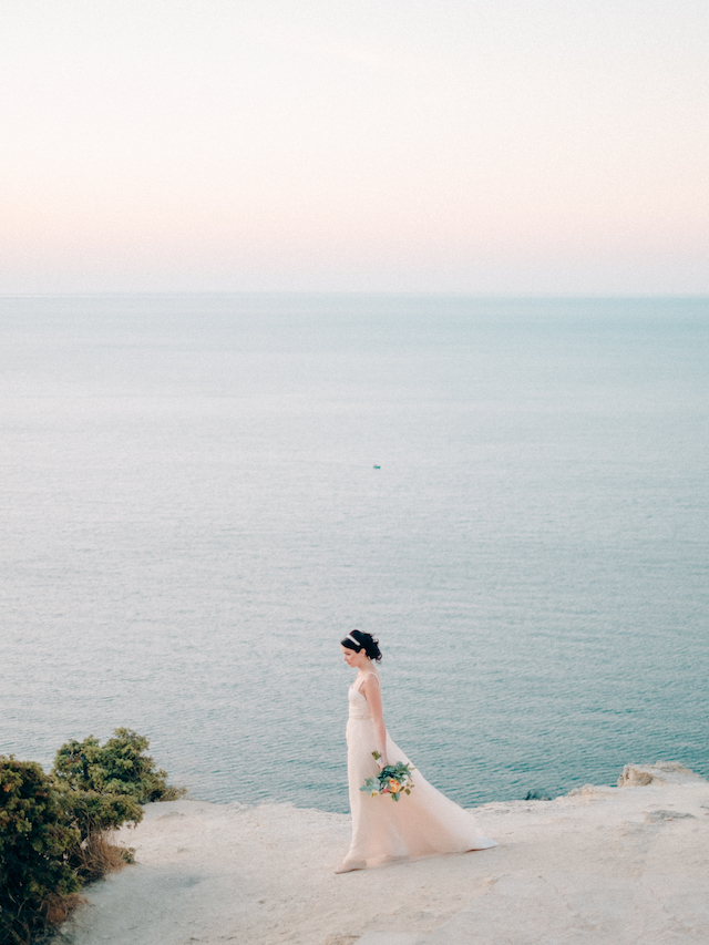 Crimean sea wedding | Alexander and Marina Santi