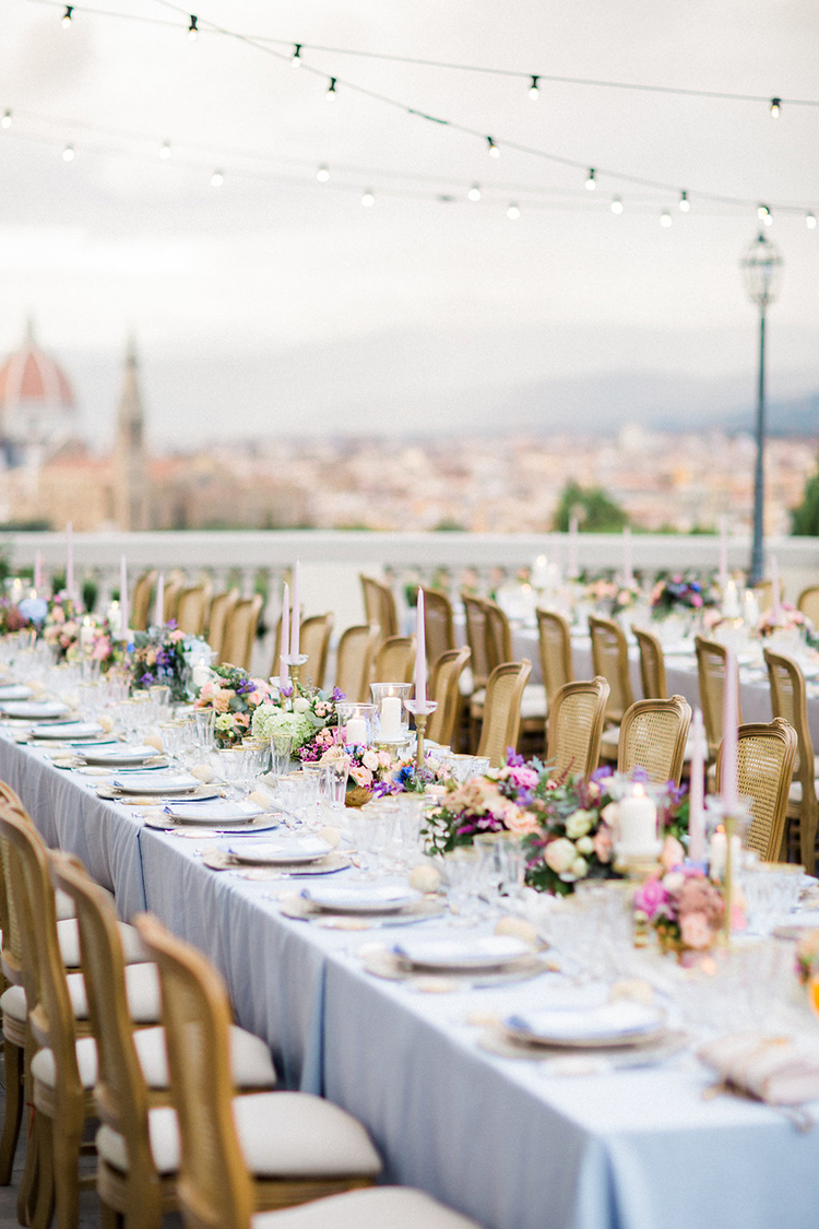 Watercolor Destination Wedding in Florence - photo by Booth Photographics http://ruffledblog.com/watercolor-destination-wedding-in-florence
