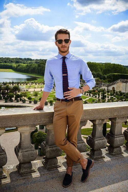 how to style business attire in summer for men (7)