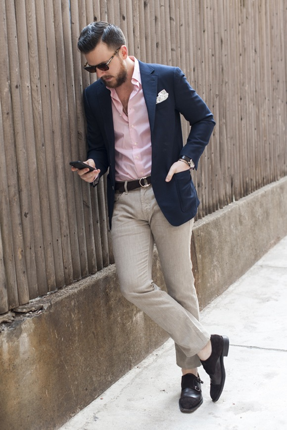 how to style business attire in summer for men (6)