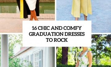 chic and comfy graduation dresses to rock cover