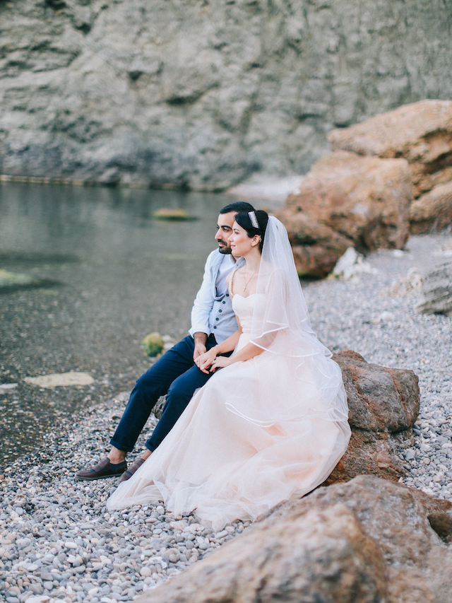 Crimea wedding in Russia | Alexander and Marina Santi