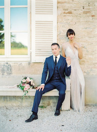 Destination wedding in a French Chateau | Zosia Zacharia Photography