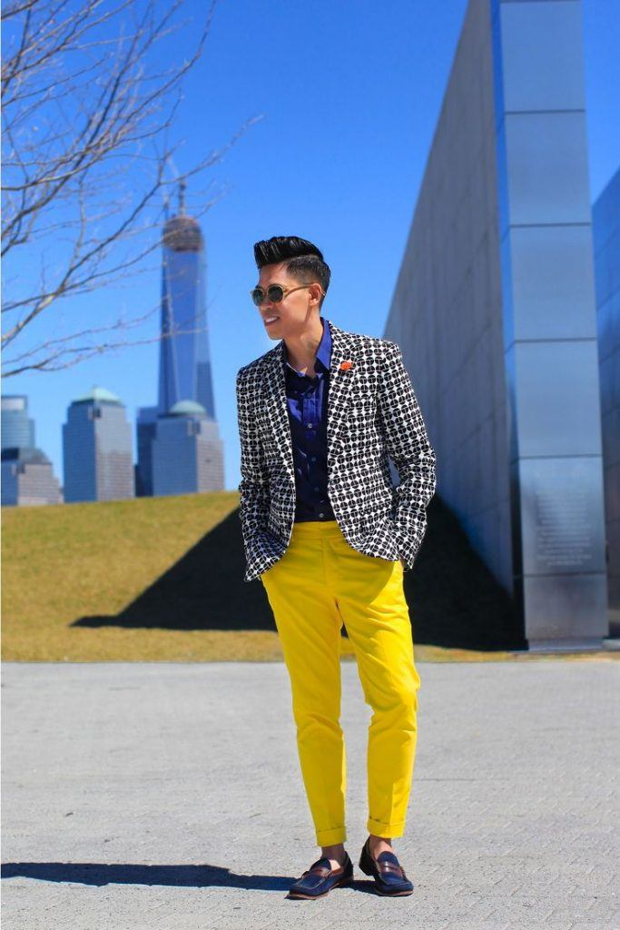 how to wear yellow pants for men (34)