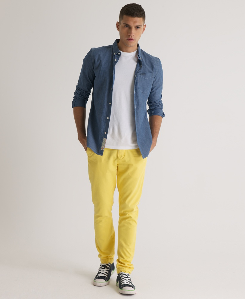how to wear yellow pants for men (16)
